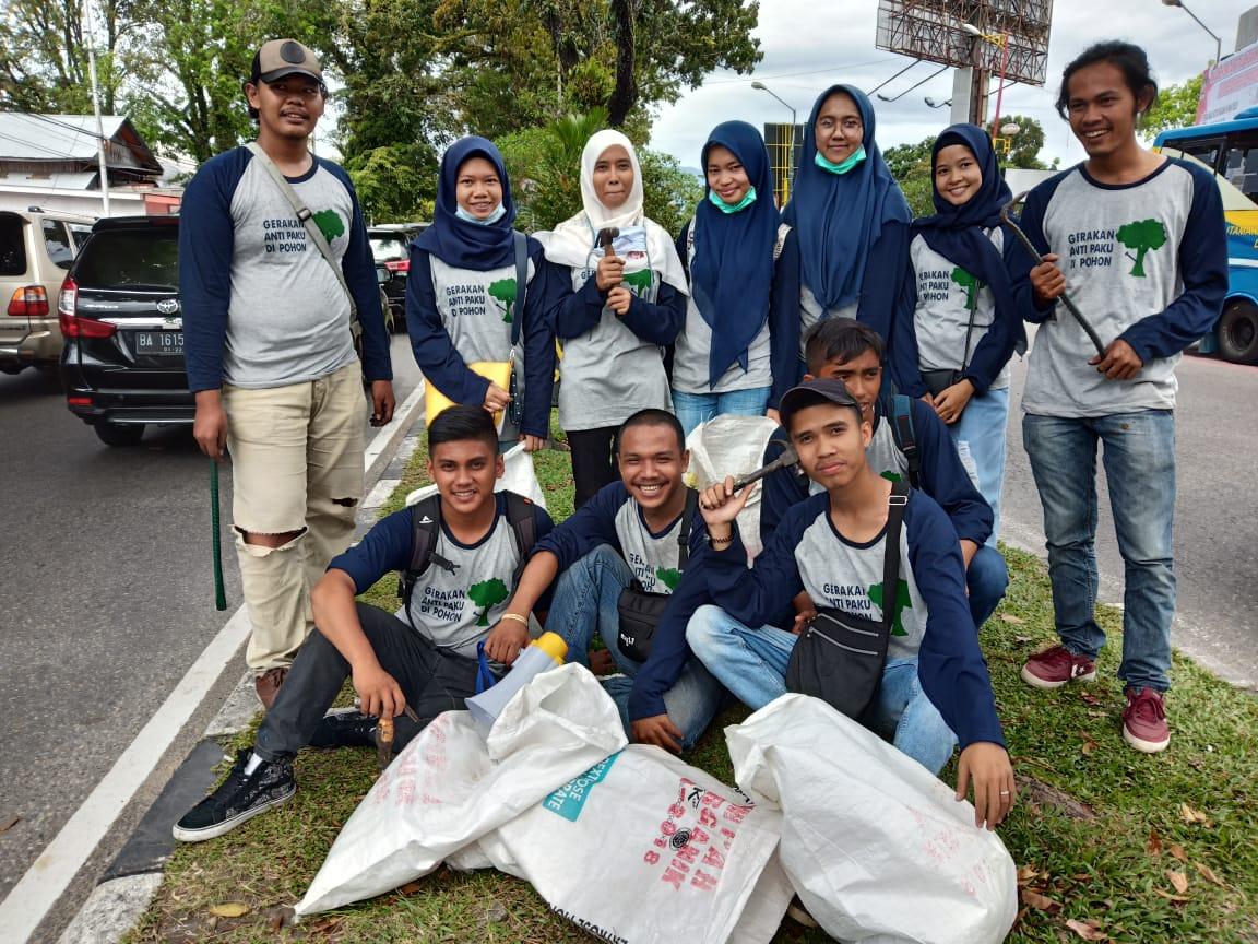 Gerakan Anti Paku HIMATEL STTIND Padang