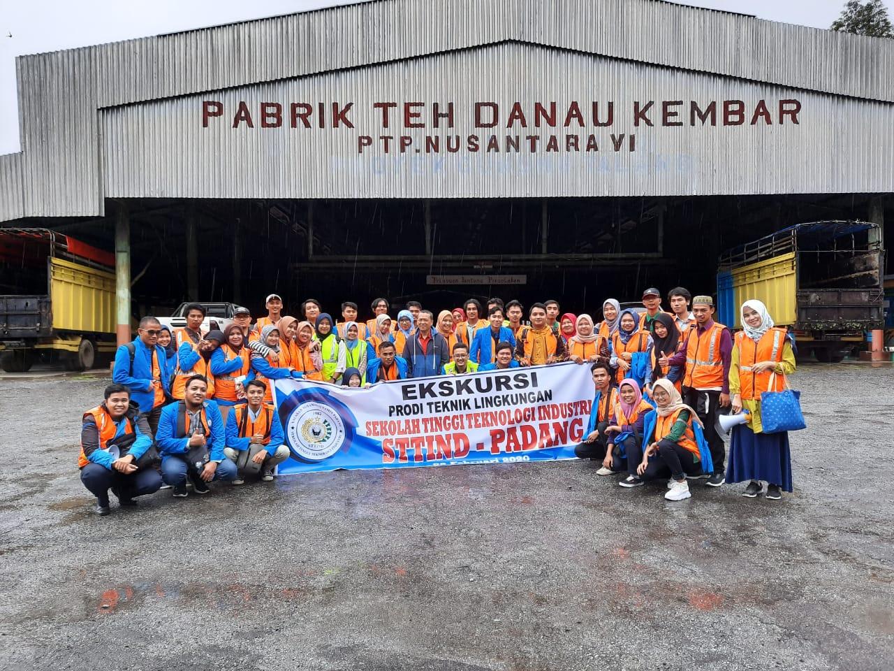 Kunjungan Industri Mahasiswa Teknik Lingkungan